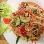 Popover Salad top dish