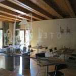 sala colazioni interno
