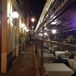 Side street terrasse of Il Trovatore