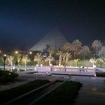 Night Pyramid View