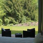 terrasse privative chambre nature