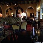 Inside chateau