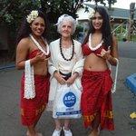 At Chief's LAUA with Hula girk