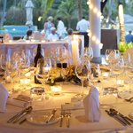 reception guests tables