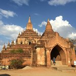 This is one of the temple in Bagan.
