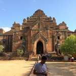 One of the Biggest ancient temple in Bagan.