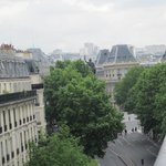 view towards Republique
