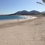 5 min walk from hotel beach