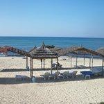 пляж вид из отеля