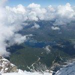 View from Zugspitze Summit