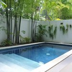 Private Pool in Room #31