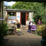 Mimosa Tea rooms Eastham on the Wirral.
