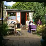 Mimosa Tea room in Eastham on the Wirral.