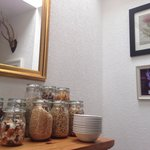 6 cereals & 5 choices of dried fruits, seeds & mixed nuts to choose from at Ardlogie