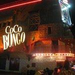 l'entrée de coco bongo