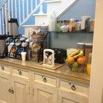 continental breakfast nook