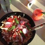 MONSTER noodle salad!