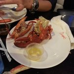 my 1st and lasr lobster