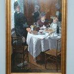 Клод Моне. Завтрак. 1868