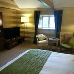 Room 7 in Fairyhill - plenty of room to relax