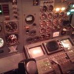 737-200 Simulator cokpit