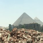 View from the city fo Giza