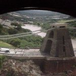 View of the Clifton Suspension Bridge from the Camera Obscura 2014