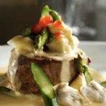 Filet Oscar with jumbo lump crabmeat