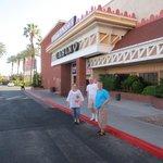 L'entrée du casino