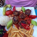 Turkish meatballs half board