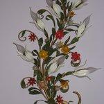 particolare lampada ornamentale
