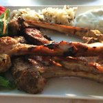 grilled lamb chops, perfectly grilled and delicious