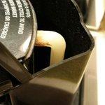 Inside coffee pot
