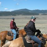 Wrangler and Guest enjoying ride