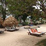 Beach preferred club section