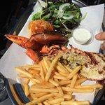 Demi homard et pince