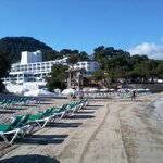 Hotel and main beach