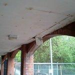 Damaged External Ceiling