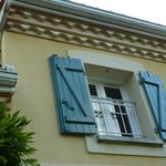 Une fenêtre de la chambre Arcachon