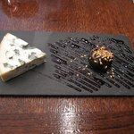 Creamy blue cheese and prune