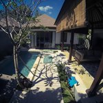 chambre avec piscine privé