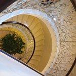 La bella scalinata interna
