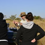 Tea and coffee break during the morning game drive