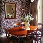 The stunning dining room