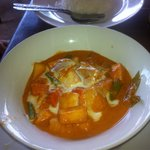 Best red curry and tofu I have ever had. Better with tofu!