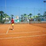 Campi da tennis professionali in terra rossa