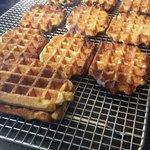 Liege waffles - hmmm...