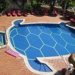 The Flamingo - the terrace pool