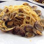 Spaghetti arselle e bottarga