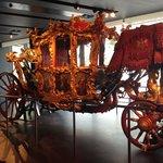 Carrozza reale nel museo di londra